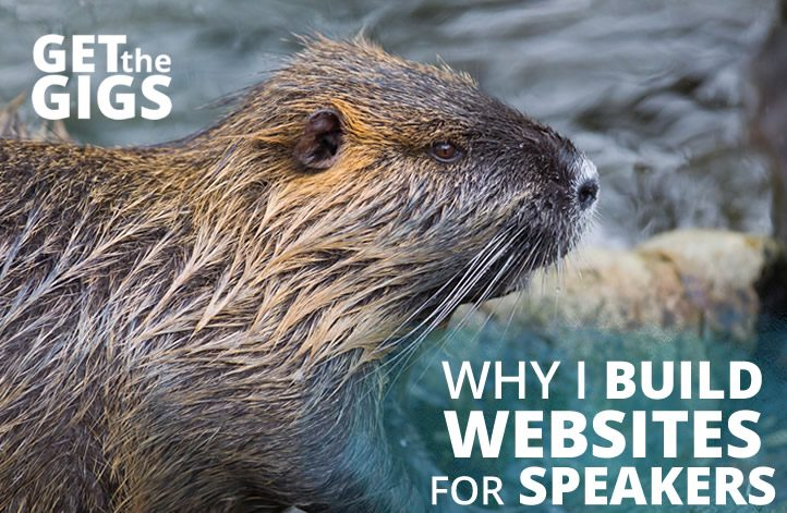 Why I Build Sites For Speakers
