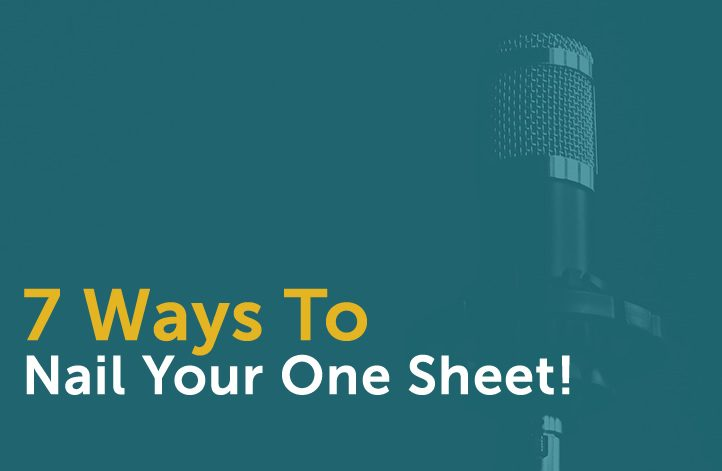 7 Ways To Nail Your Speaker One Sheet