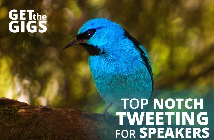 Tweeting Terrific: Top Notch Twitter Tips For Speakers!
