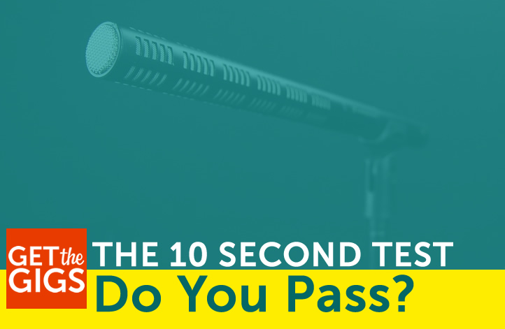 The 10 Second Test