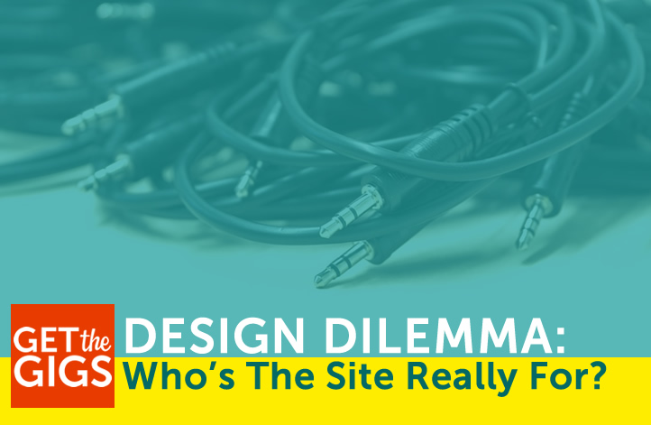 Design Dilemma: Who's The Website Really For?