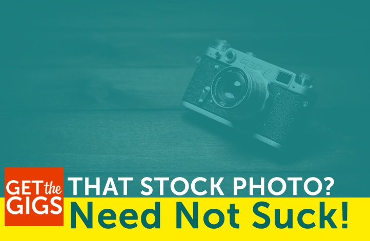 That Stock Photo? It Doesn't Have To Suck!