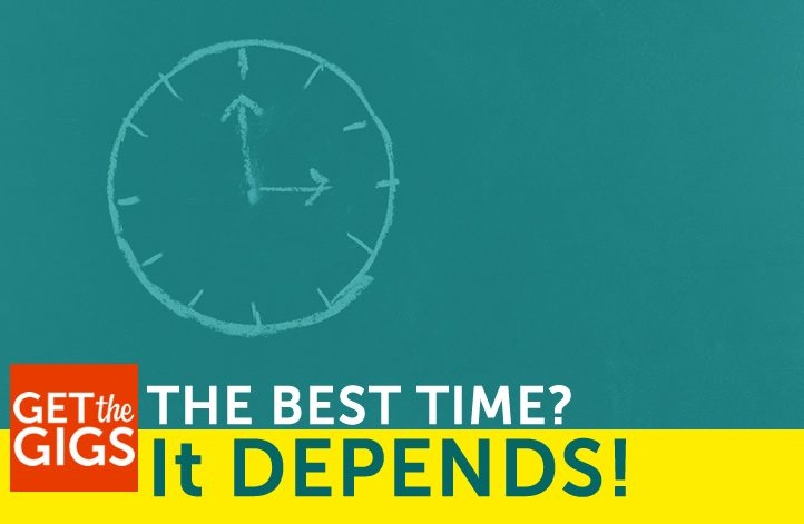 Best Time For Social Sharing? It Depends!